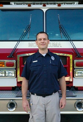 Montezuma Fire Chief Matthew Moye